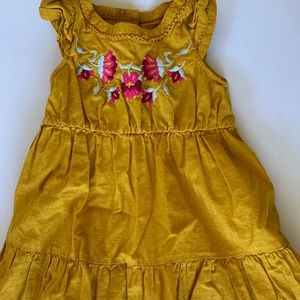 Gymboree Mustard Dress